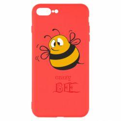 Чехол для iPhone 8 Plus Crazy Bee