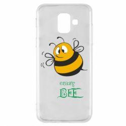 Чехол для Samsung A6 2018 Crazy Bee