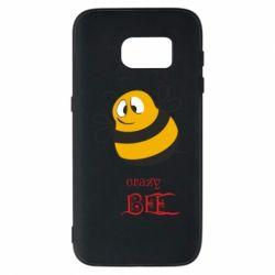 Чехол для Samsung S7 Crazy Bee