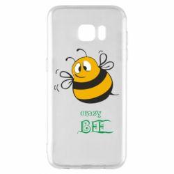 Чохол для Samsung S7 EDGE Crazy Bee