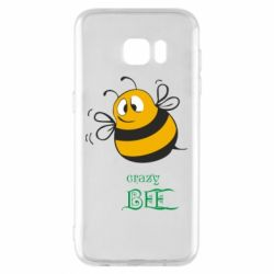 Чехол для Samsung S7 EDGE Crazy Bee