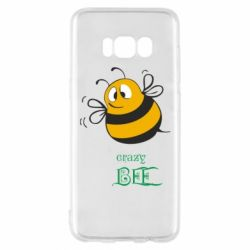 Чехол для Samsung S8 Crazy Bee