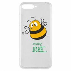 Чехол для Huawei Y6 2018 Crazy Bee - FatLine