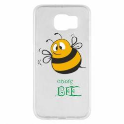 Чехол для Samsung S6 Crazy Bee