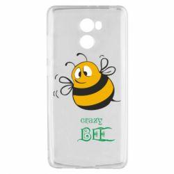 Чехол для Xiaomi Redmi 4 Crazy Bee - FatLine