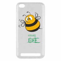 Чехол для Xiaomi Redmi 5a Crazy Bee - FatLine