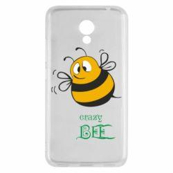 Чехол для Meizu M5c Crazy Bee - FatLine