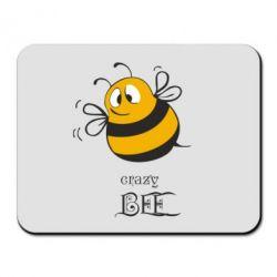 Коврик для мыши Crazy Bee