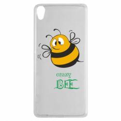 Чехол для Sony Xperia XA Crazy Bee - FatLine