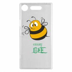 Чехол для Sony Xperia XZ1 Crazy Bee - FatLine