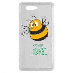Чехол для Sony Xperia Z3 mini Crazy Bee - FatLine
