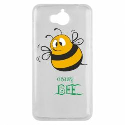Чехол для Huawei Y5 2017 Crazy Bee - FatLine