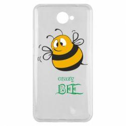 Чехол для Huawei Y7 2017 Crazy Bee - FatLine