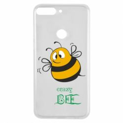 Чехол для Huawei Y7 Prime 2018 Crazy Bee - FatLine