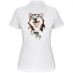 Женская футболка поло Crazy Dog