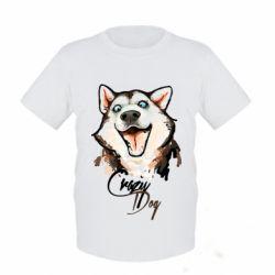 Детская футболка Crazy Dog