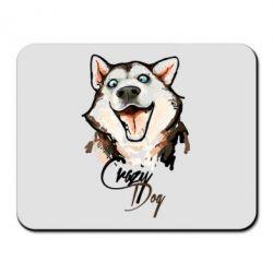 Коврик для мыши Crazy Dog