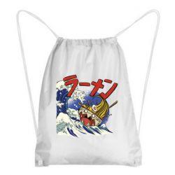 Рюкзак-мешок Crazy food