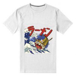 Мужская стрейчевая футболка Crazy food
