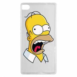 Чехол для Huawei P8 Crazy Homer! - FatLine