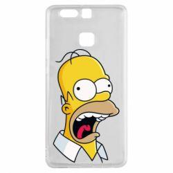 Чехол для Huawei P9 Crazy Homer! - FatLine