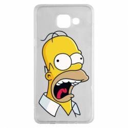 Чехол для Samsung A5 2016 Crazy Homer! - FatLine