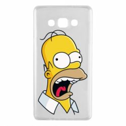 Чехол для Samsung A7 2015 Crazy Homer! - FatLine