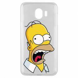 Чехол для Samsung J4 Crazy Homer! - FatLine