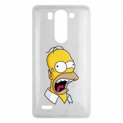 Чехол для LG G3 mini/G3s Crazy Homer! - FatLine