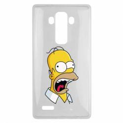 Чехол для LG G4 Crazy Homer! - FatLine