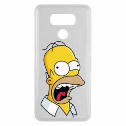 Чехол для LG G6 Crazy Homer! - FatLine