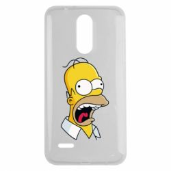 Чехол для LG K7 2017 Crazy Homer! - FatLine