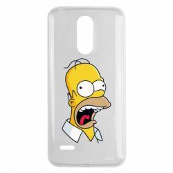Чехол для LG K8 2017 Crazy Homer! - FatLine