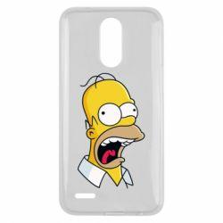 Чехол для LG K10 2017 Crazy Homer! - FatLine
