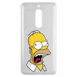 Чехол для Nokia 5 Crazy Homer! - FatLine
