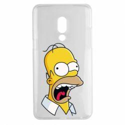 Чехол для Meizu 15 Plus Crazy Homer! - FatLine