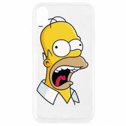 Чехол для iPhone XR Crazy Homer! - FatLine