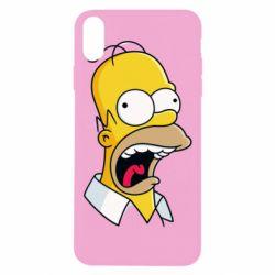Чехол для iPhone Xs Max Crazy Homer! - FatLine