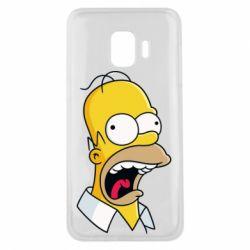 Чехол для Samsung J2 Core Crazy Homer! - FatLine