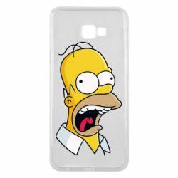 Чехол для Samsung J4 Plus 2018 Crazy Homer! - FatLine
