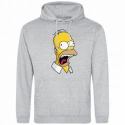 Мужская толстовка Crazy Homer! - FatLine