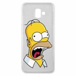 Чехол для Samsung J6 Plus 2018 Crazy Homer! - FatLine