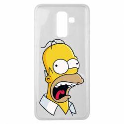 Чехол для Samsung J8 2018 Crazy Homer! - FatLine