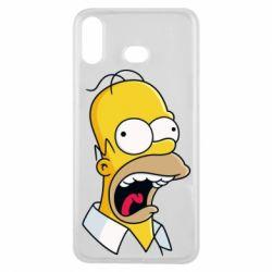 Чехол для Samsung A6s Crazy Homer! - FatLine