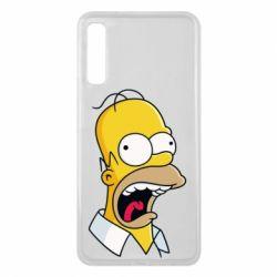 Чехол для Samsung A7 2018 Crazy Homer! - FatLine