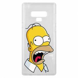 Чехол для Samsung Note 9 Crazy Homer! - FatLine