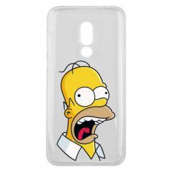 Чехол для Meizu 16 Crazy Homer! - FatLine