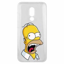 Чехол для Meizu 16x Crazy Homer! - FatLine