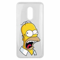 Чехол для Meizu 16 plus Crazy Homer! - FatLine