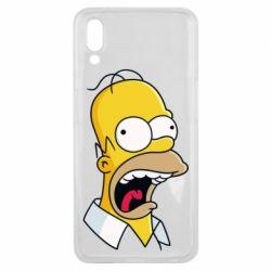 Чехол для Meizu E3 Crazy Homer! - FatLine